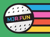 MJR.FUN (Major Fun)  Logo