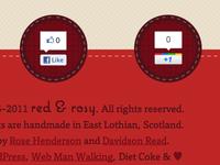 red & rosy Sneaky Peek 1
