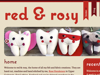 red & rosy Home page 1