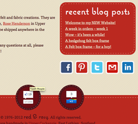 red & rosy Home page 2