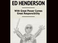Responsive design idea for Ed Henderson (edhenderson.com)
