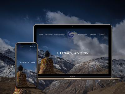Golyan Group • UI/UX Website Design & Development