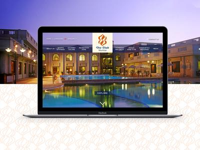 The Club, Mumbai • Website Design & Development