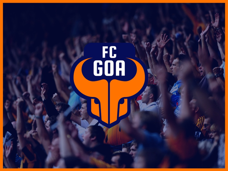d44d79faaf8 FC GOA • Branding merchandise brand design luxury sports stationery  branding identity digital typography vector logo