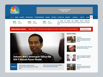 Website CNBC Indonesia 2017