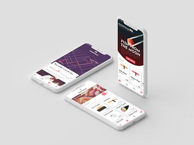 Sushi Kami - Shop App Design animation figma website app branding logo illustration web  design web vector ux ui typography design interface concept