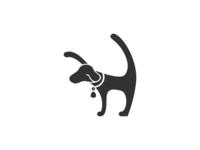 Dog Logo Concept Initial H + Dog