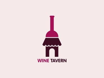 Wine Tavern Logo Concept