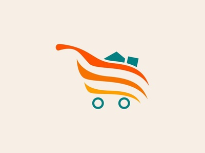 Shopping Cart Logo Concept