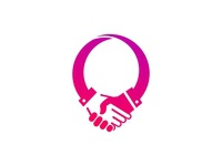 Deal / regards / congratulation logo concept