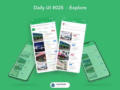 Daily UI #025 - Explore ecommerce marketplace explorepage explorer ecommerceexplore research explore day21