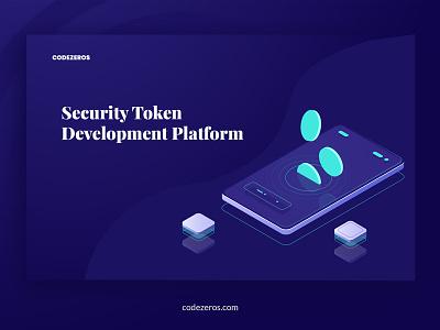 Security Token Offering token app design design ui ux tokens ico token blockchain token development crypto token token token development security token security token offering codezeros
