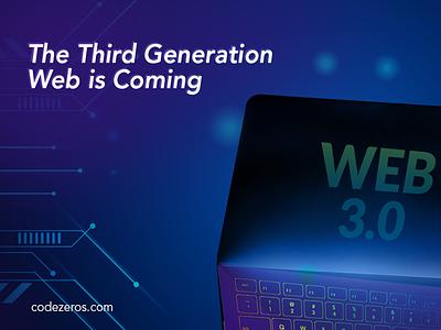 Third Generation Web design art web webdesign website design designer design ux vector ui illustration ui ux generation third generation third blockchain codezeros