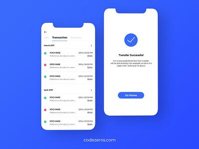 Payment App app ui design currency exchange payment method transaction app development app design payment app codezeros