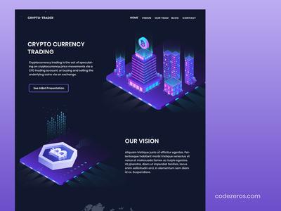 Codezeros - cryptocurrencies trade-platform