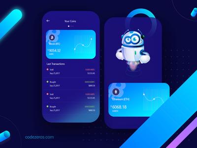 Bitcoin Trading Platform App