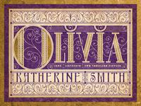 Olivia Lettering