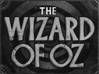 The Wizard of Oz • Movie Title • 1939