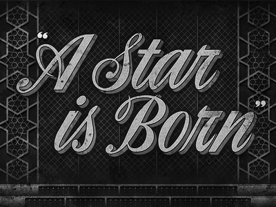 A Star is Born • Movie Title