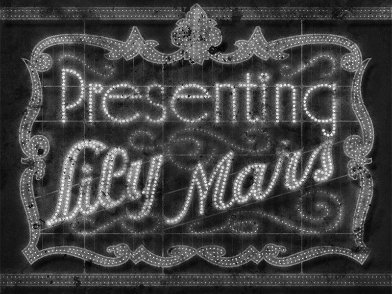 Presenting Lily Mars • 1943 • Movie Titles movietitles lettering typography judygarland
