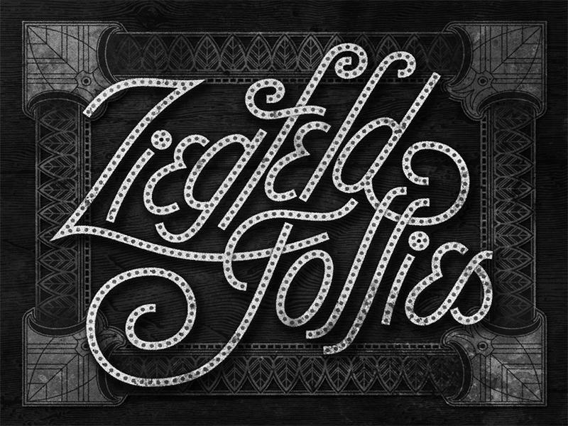 Ziegfeld Follies • 1946 • Movie Title movietitles marquee lettering typography judygarland