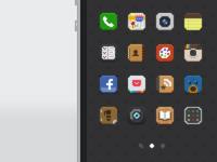 Tiny iOS Icons
