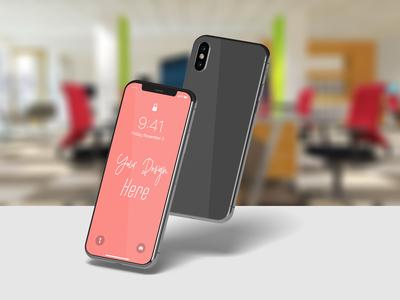 Phone X Mockup Vol II