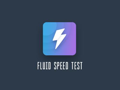 Fluid speed test