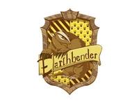 Hogwarts Earthbender Crest