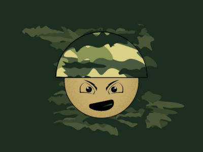 Angry Soldier