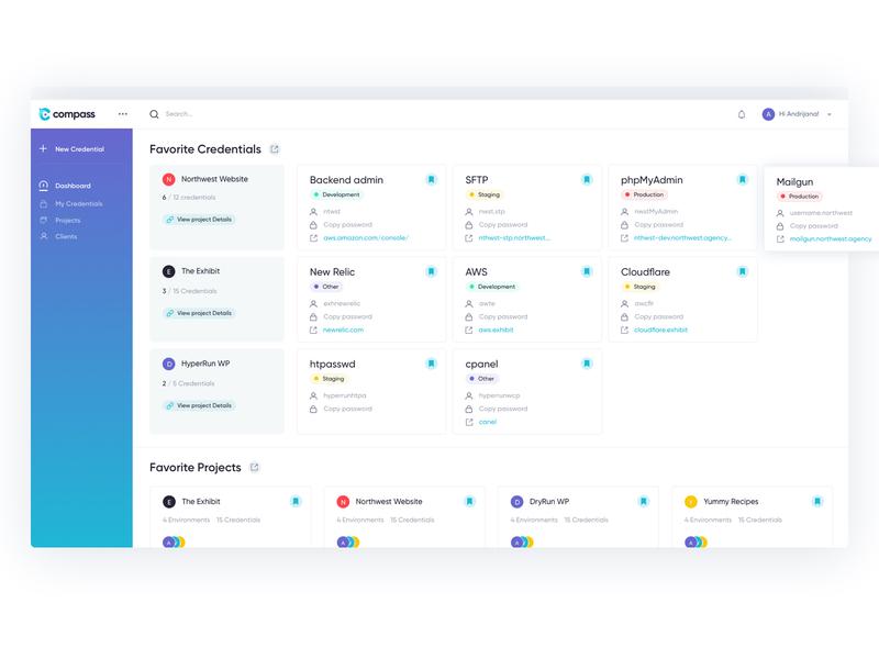 compass dashboard design dashboard app dashboard ui dashboad web web design app web app user experience design user interface design design ux ui