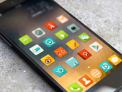 Reclado Nova Theme Beta 0.1 icon android nexus5 reclado delacro theme