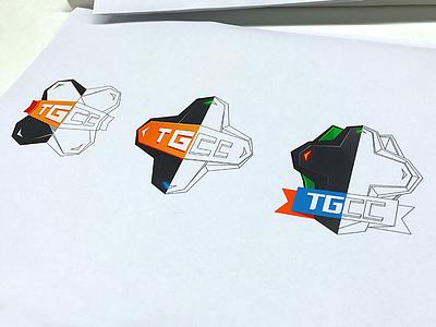 TGCC competition d-pad gamepad game icon logo