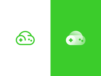 Cloud Game App Icon design logo icon gamepad cloud game game cloud
