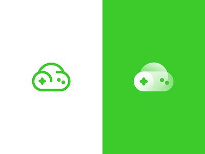 Cloud Game App Icon design logo icon gamepad cloud game game cloud