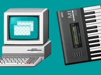 Skeuomorphic Icon Graphics Design