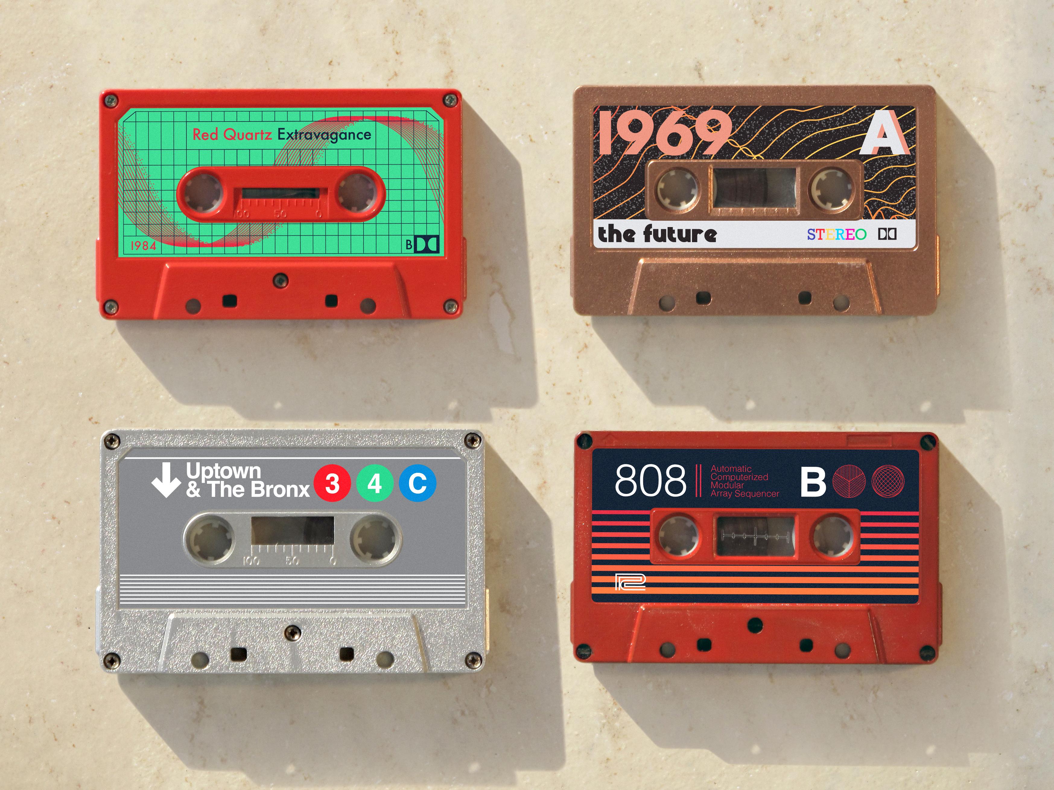 Cassette labels for fun