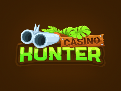 logo design - hunter casino