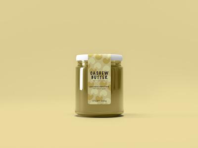 Cashew Butter butter branding graphicdesign design