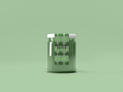 Hazelnut Butter butter branding graphicdesign design