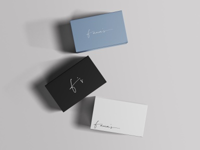 Fania's - Logo Design & Branding logodesign logo packaging packagedesign branding graphicdesign design