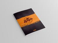 Sagos Restaurant Menu Card