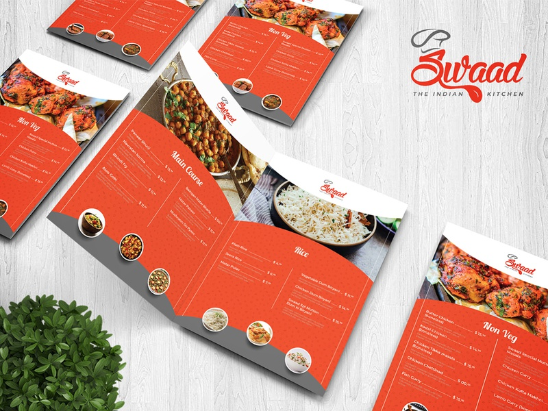 Main Course Menu Card Design restaraunt menu card cuisine beverage tea breakfast non-veg menu bar menu graphics restaurant menu meal vegetarian design cafe illustration yummy menu menu design branding bar