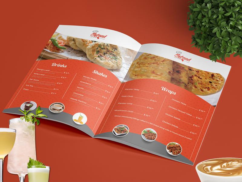 Swaad Restaurant Menu Card drinks swaad yummy menu restaraunt vegetarian beverage cuisine breakfast menu card menu bar menu design meal menu restaurant menu illustration cafe design graphics branding bar