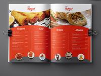 Swaad Restaurant Menu Card Design