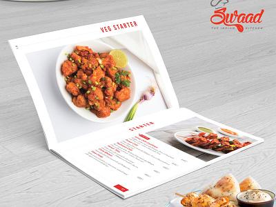 Veg Starter Menu Design starter menu design beverage yummy menu restaurant menu meal cuisine vegetarian restaraunt menu card menu menu bar illustration graphics design branding