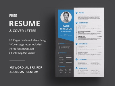 Resume | Freebie free design free resume template freebie psd free resume resume cv resume design cv template word cv resume template cv resume clean freebbble freebie free template