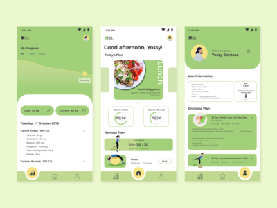 Chi - Food and Workout Planner