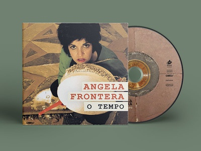 Angela Frontera ─ Cover and CD Layout
