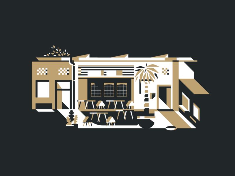 TheOffice Luxembourg flatdesign design composition vector illustration creative studio